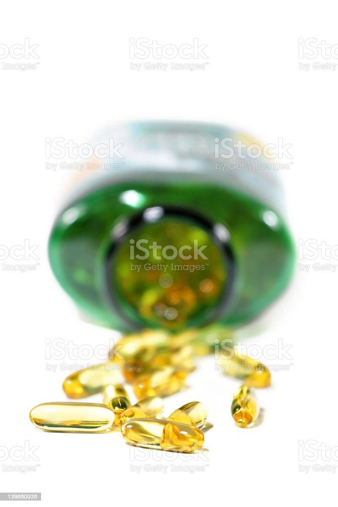 Omega 3 royalty-free stock photo