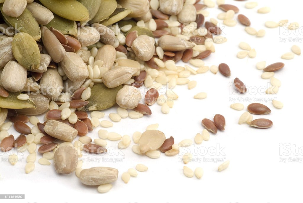 Omega Seed Mix royalty-free stock photo