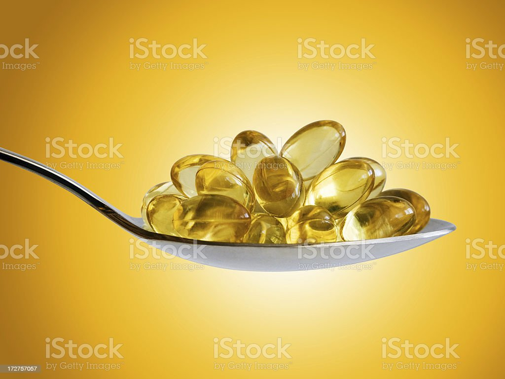 Omega-3 for you royalty-free stock photo