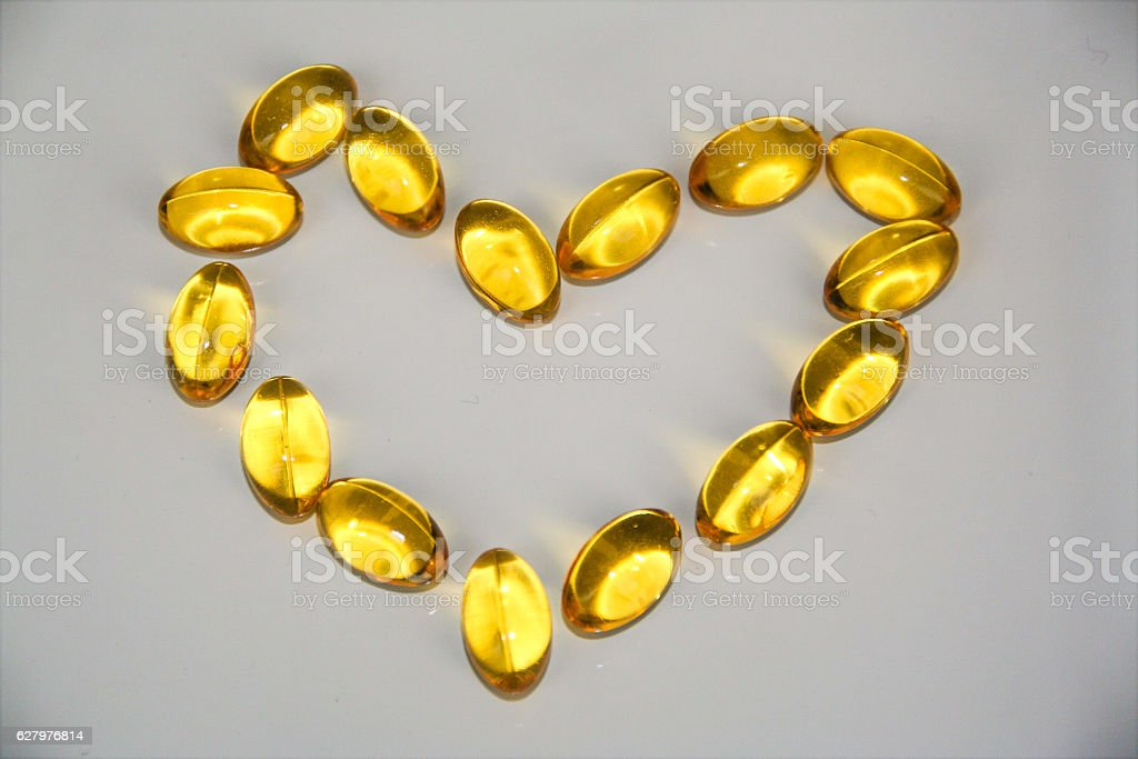 omega-3 , good for your heart stock photo