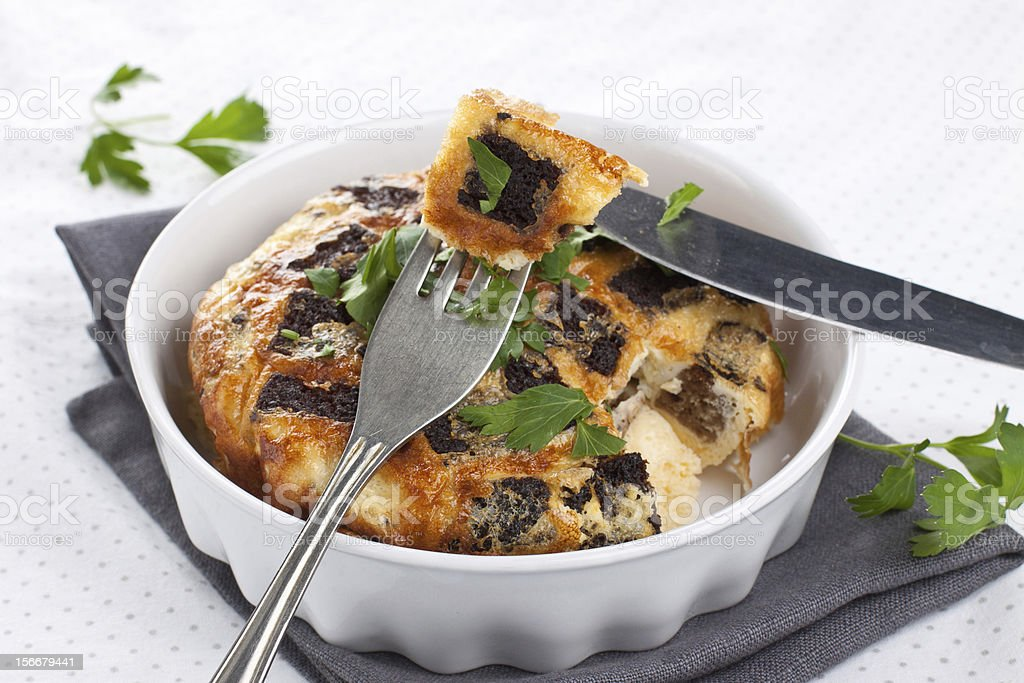 Omelet royalty-free stock photo