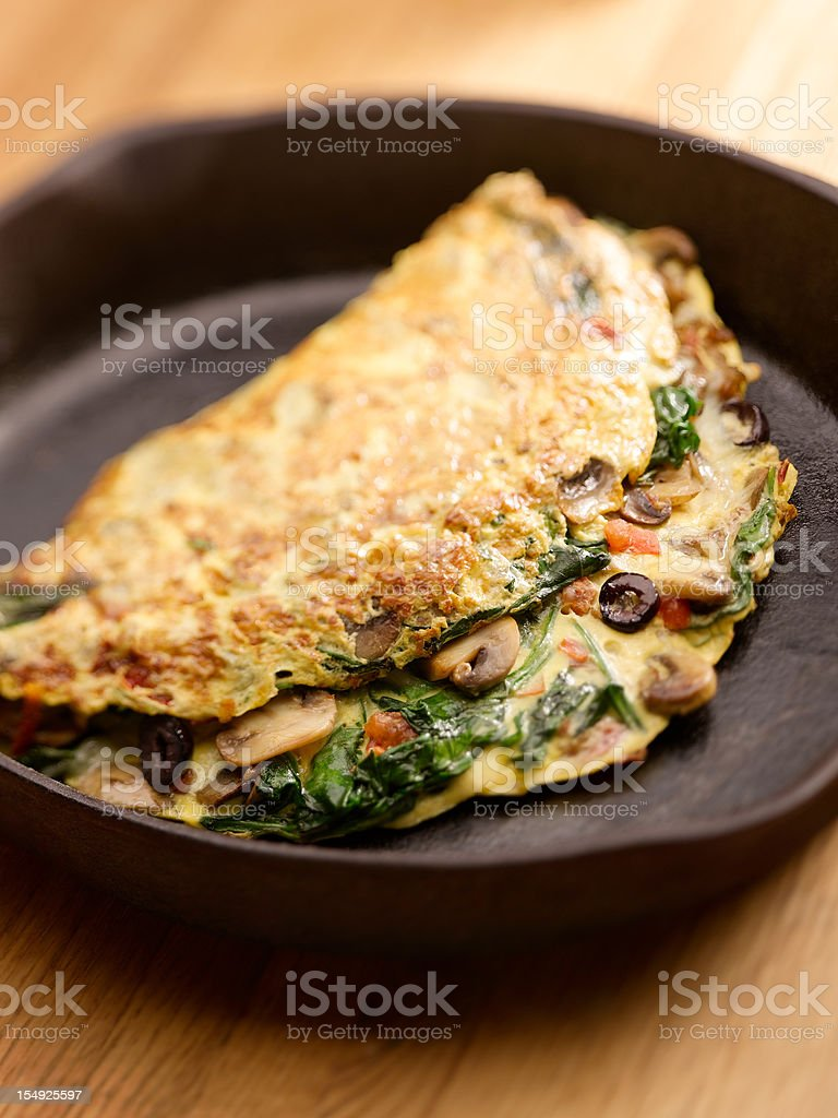 Omelette royalty-free stock photo