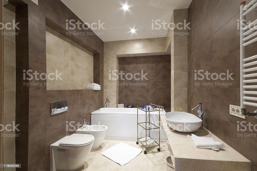 Сomfortable bathroom royalty-free stock photo