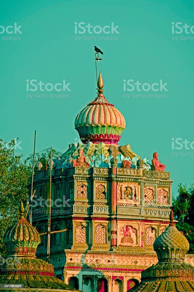 Omkareshwar Temple, Pune, Maharashtra, India stock photo