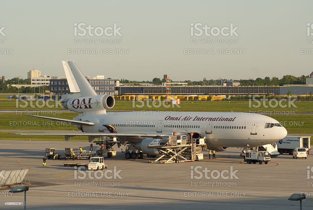 Omni Air International, McDonnell Douglas DC-10-30 royalty-free stock photo