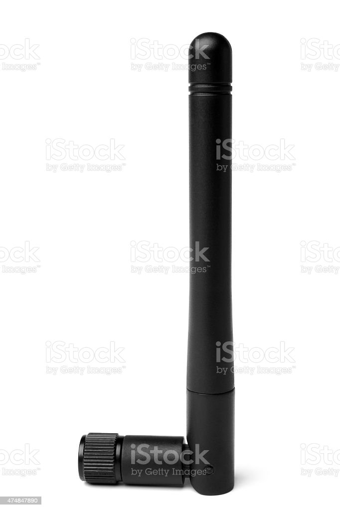 Omnidirectional antenna stock photo