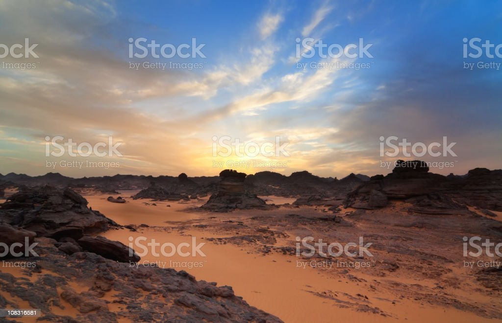 On a foreign Planet stock photo