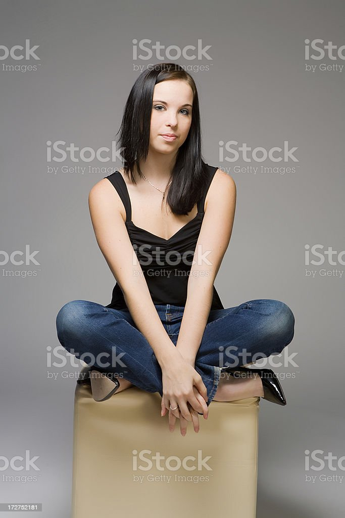 On a pedestal royalty-free stock photo