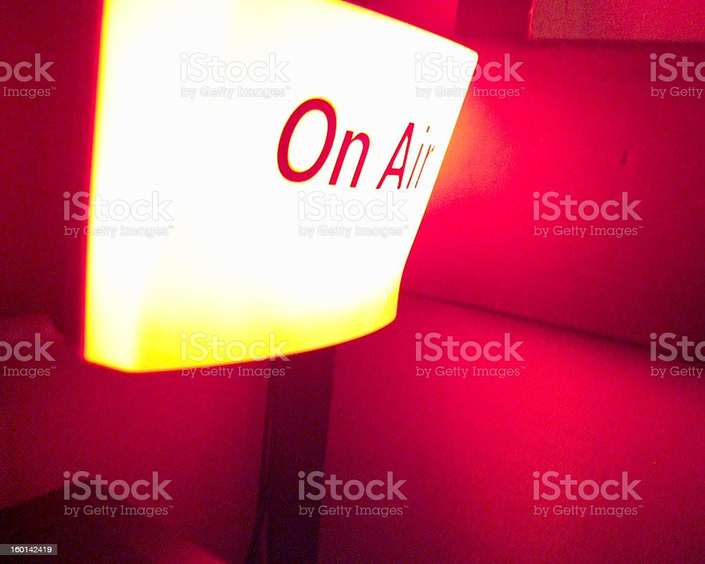 on air 01 royalty-free stock photo