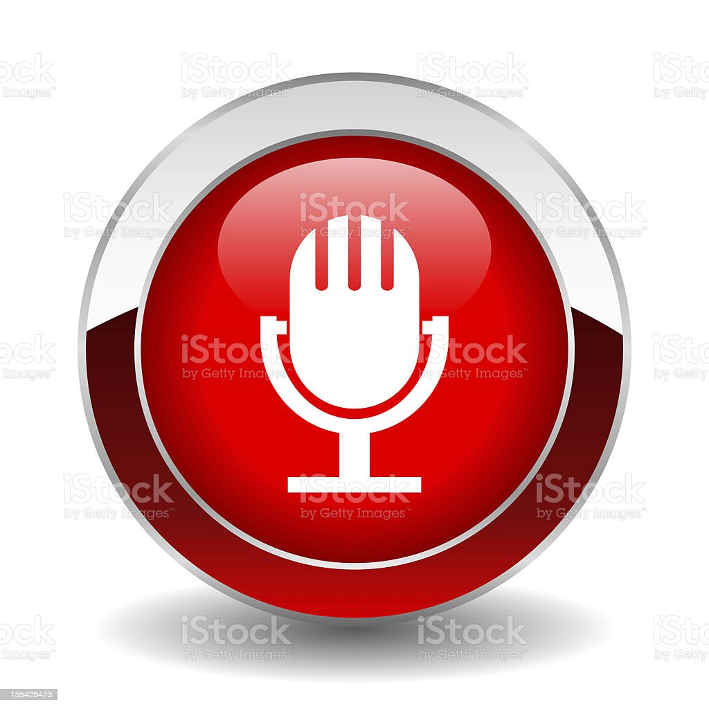 On air button royalty-free stock photo