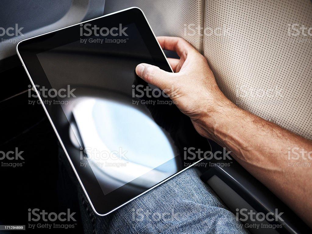 On board computing stock photo