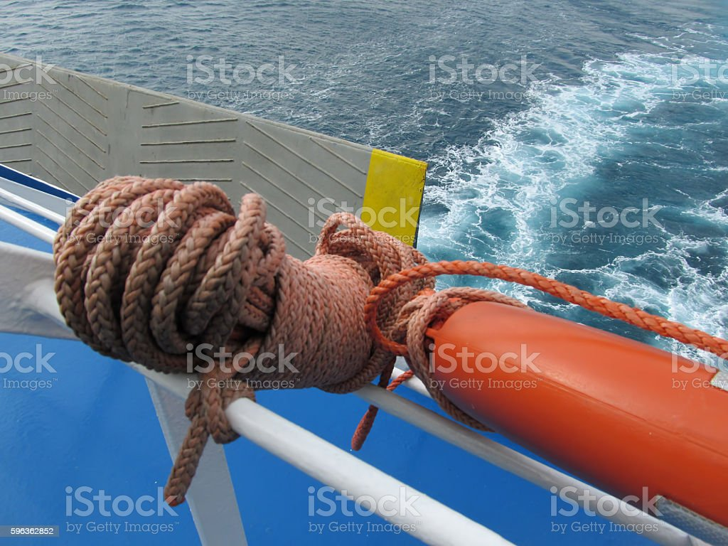 On board stock photo