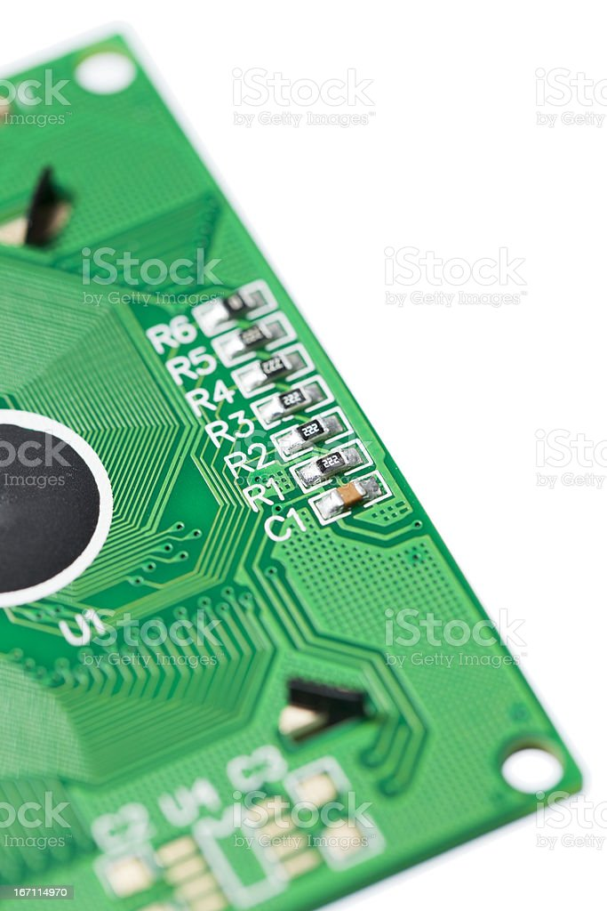 SMD On Circuit Board stock photo