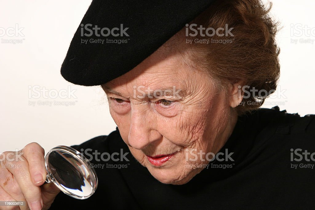 On closer inspection royalty-free stock photo