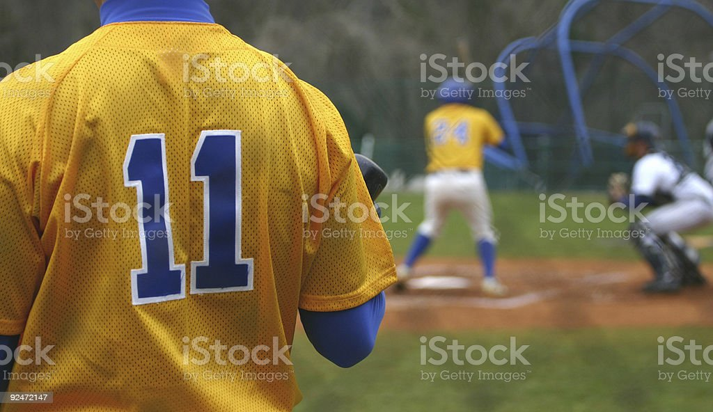 On Deck royalty-free stock photo