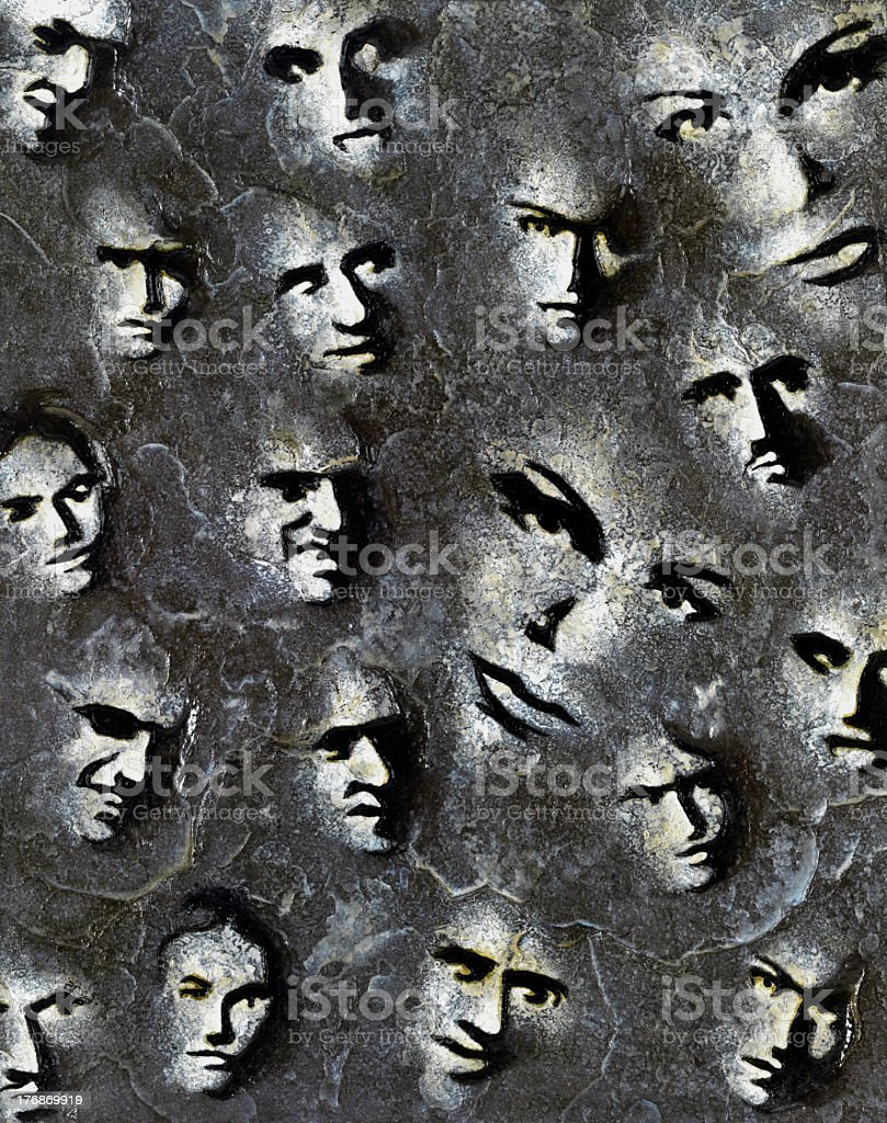 Sur Face royalty-free stock photo