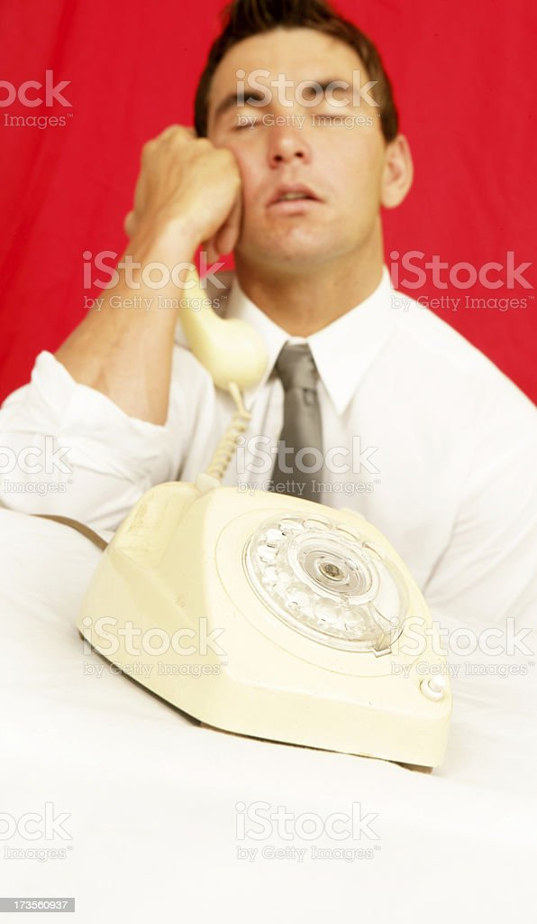 On Hold FOREVER! royalty-free stock photo