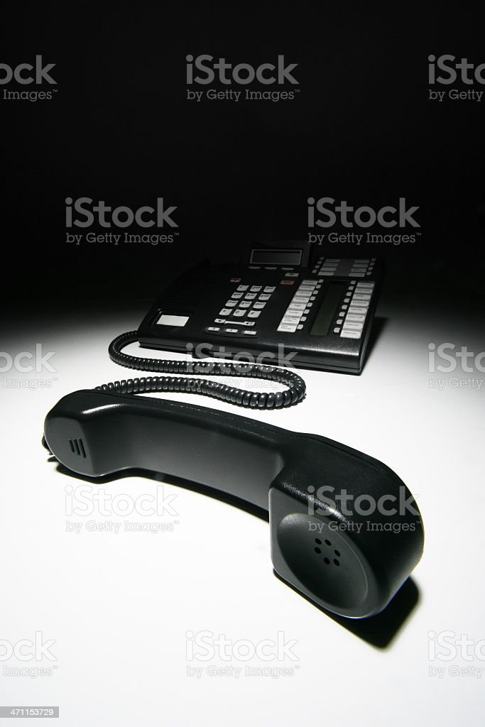 On Hold stock photo