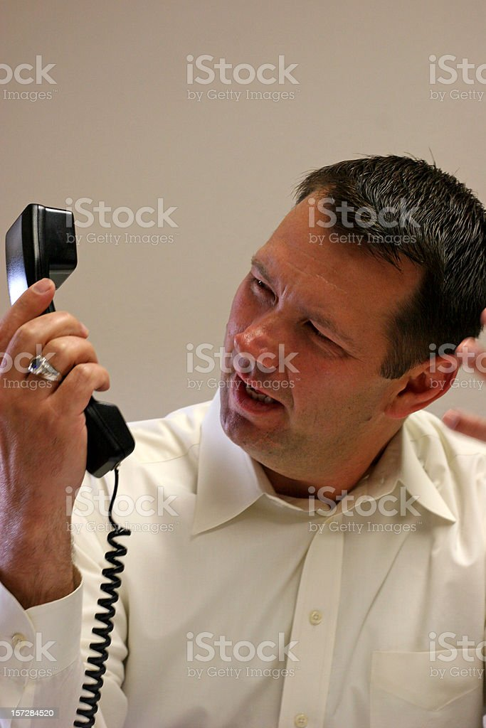 On Hold Series 5 royalty-free stock photo