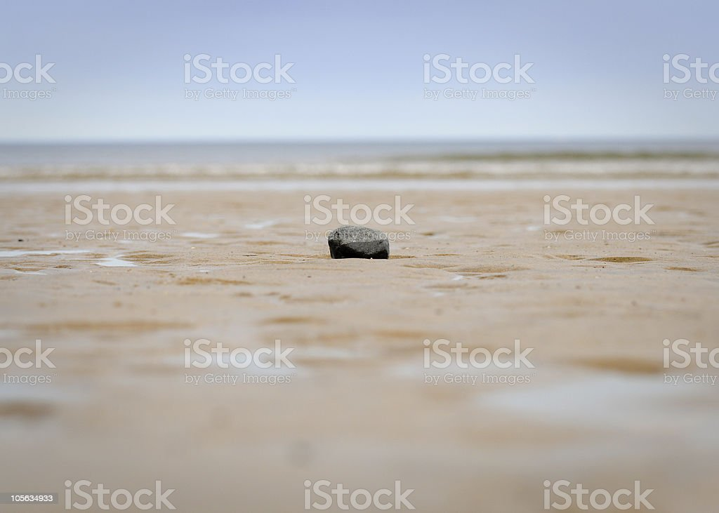 On My Own stock photo