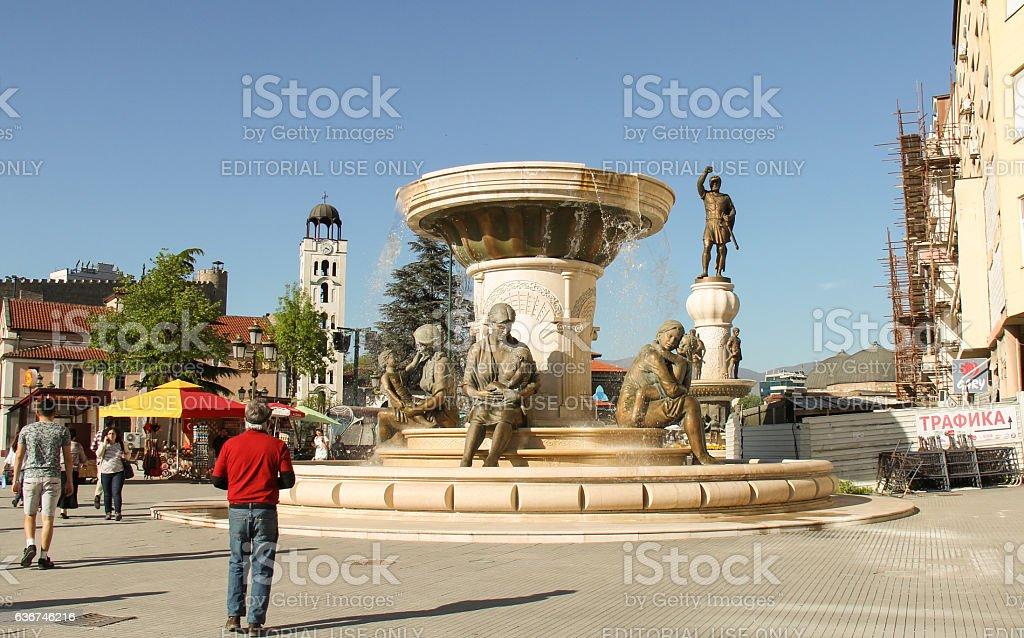 On Philip II Square stock photo