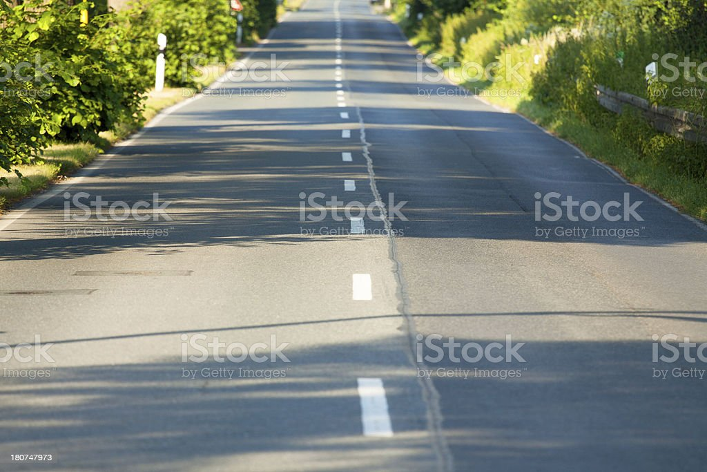 On road royalty-free stock photo