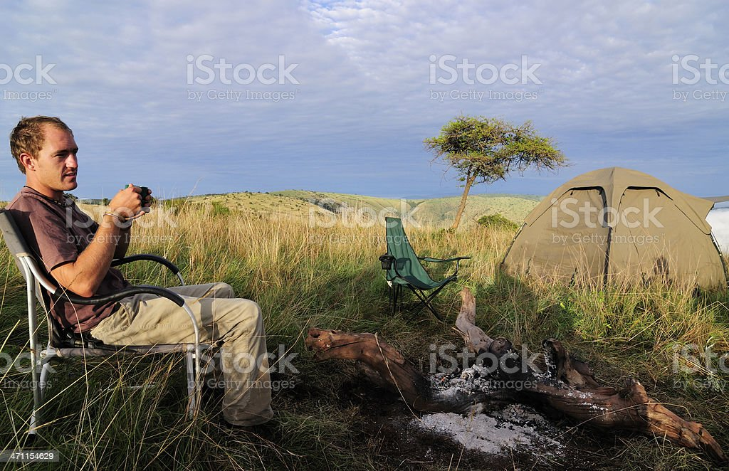 On Safari in Africa royalty-free stock photo