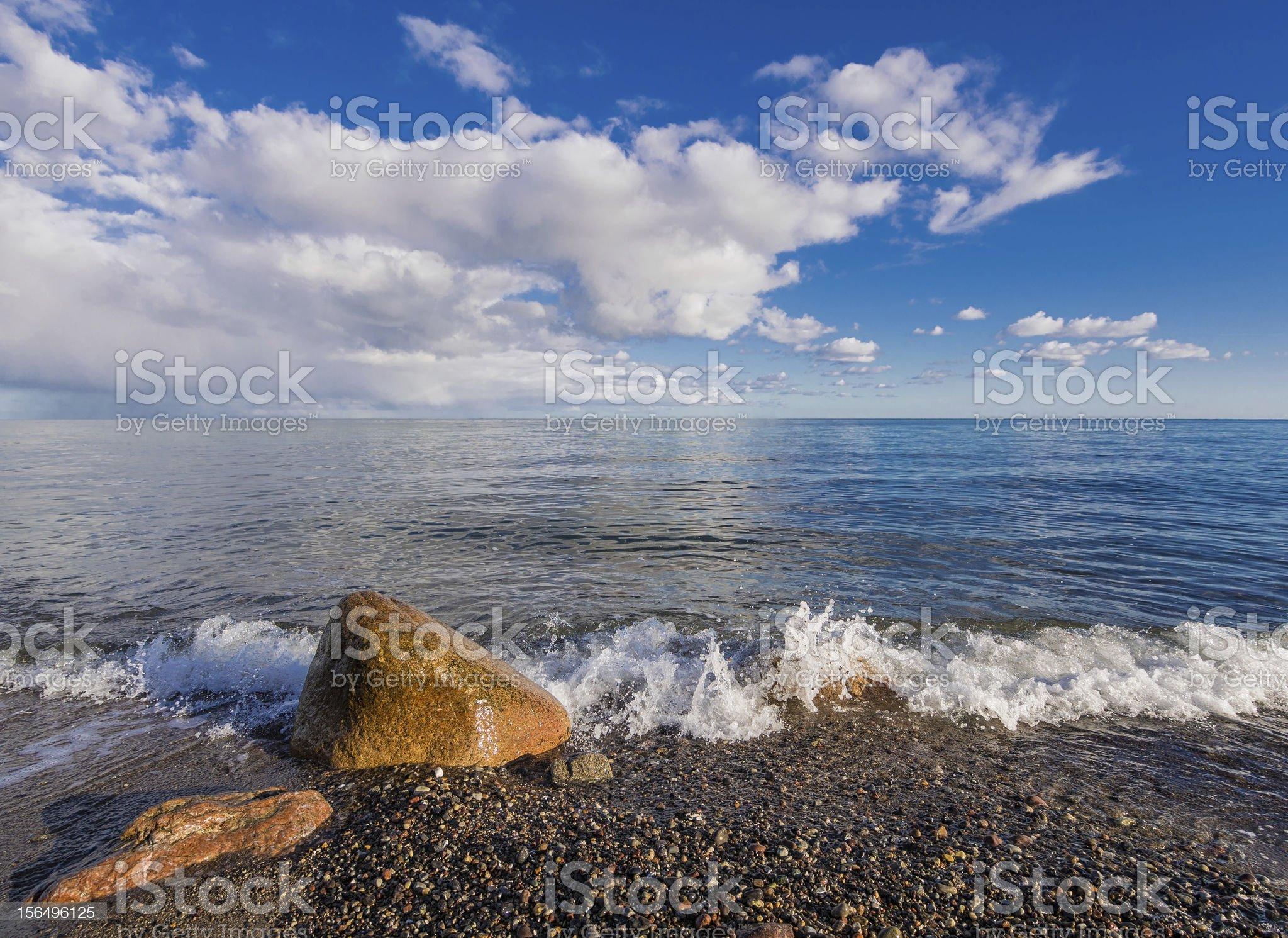 On shore royalty-free stock photo