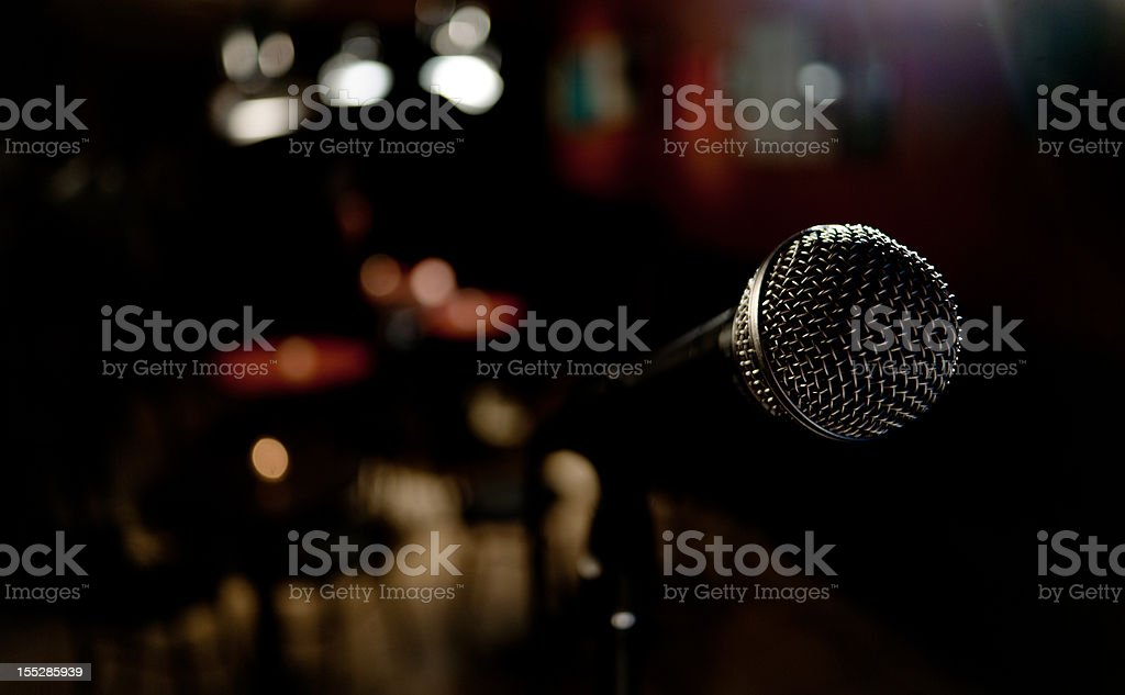 On stage stock photo