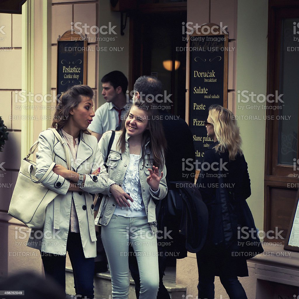 On Street royalty-free stock photo