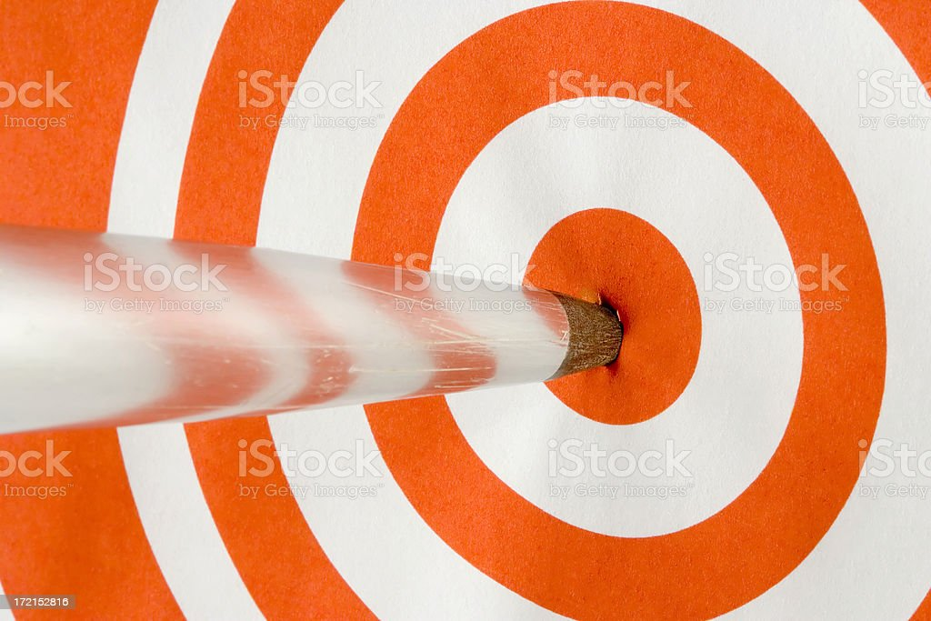 On Target 3 royalty-free stock photo