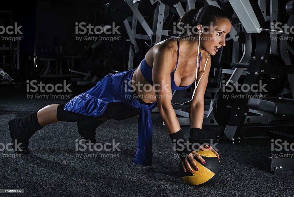 On the ball royalty-free stock photo