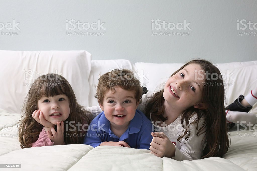 On The Bed royalty-free stock photo