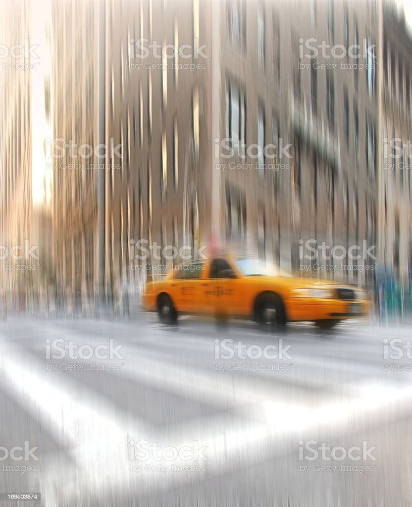 On the commute royalty-free stock photo