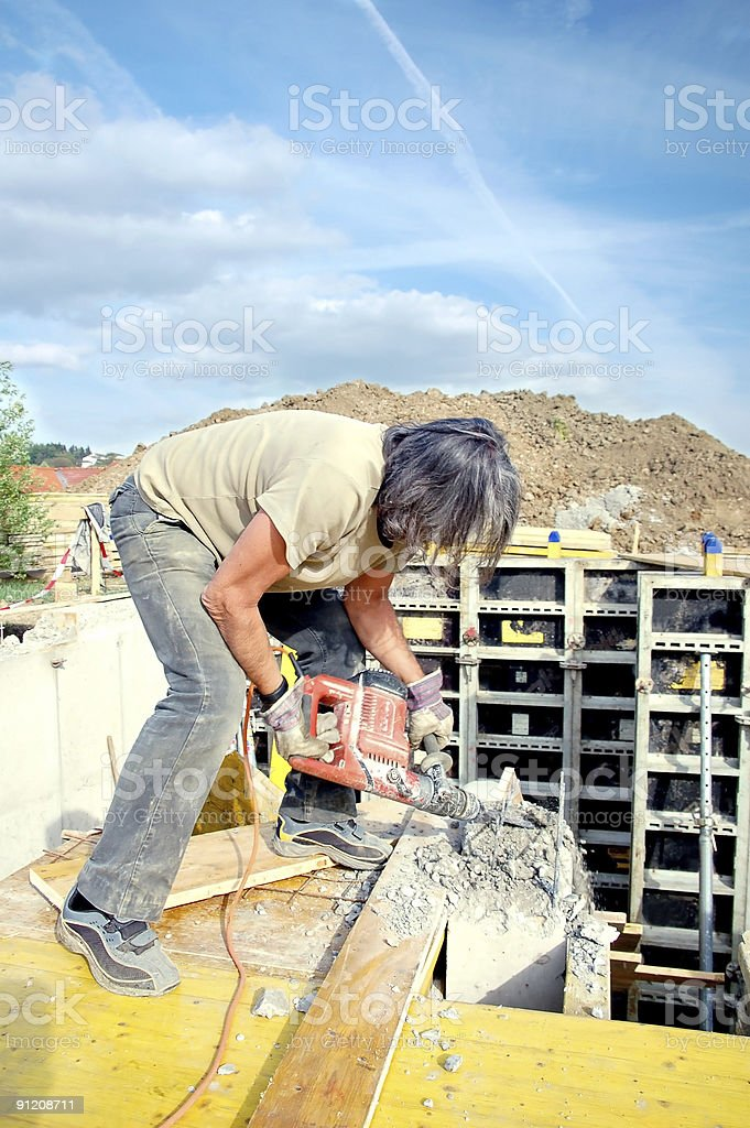 On the Construction Site royalty-free stock photo