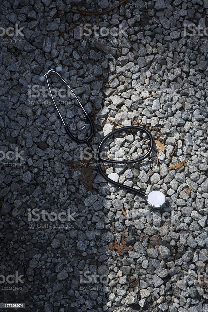 On The Edge of Life and Death royalty-free stock photo