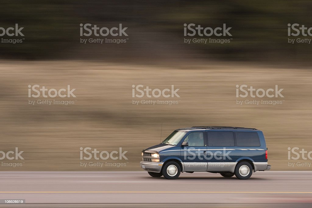 On the go royalty-free stock photo