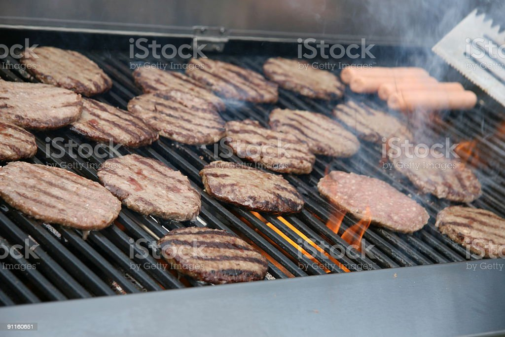 On the Grill stock photo