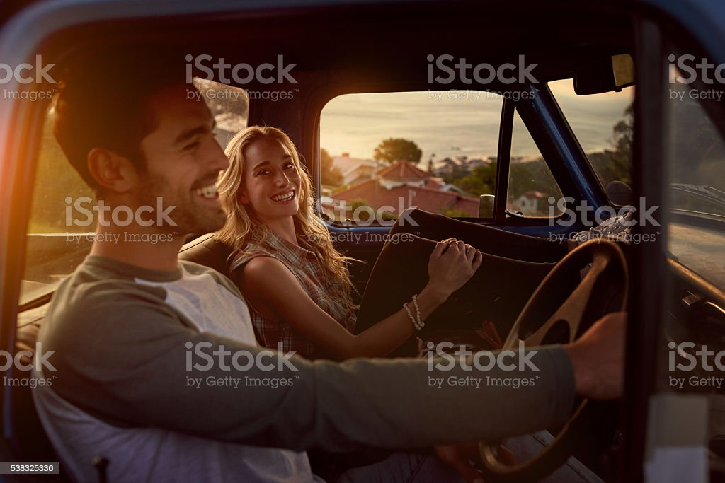 On the journey to love stock photo