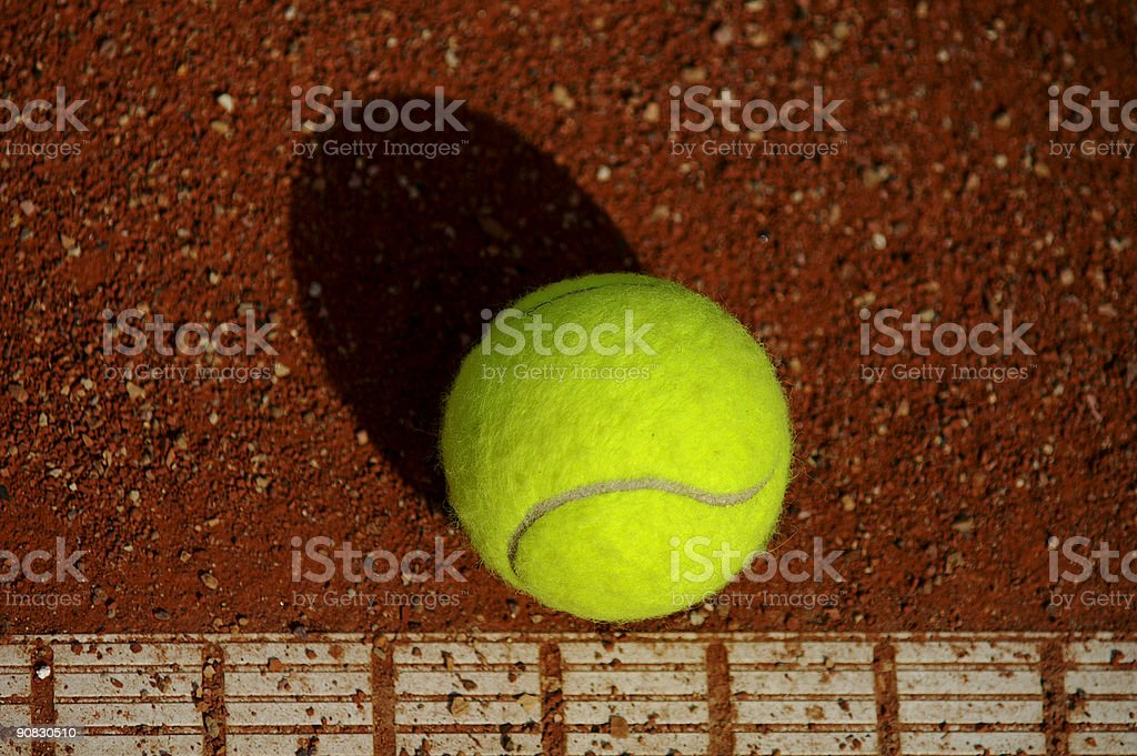 On the line royalty-free stock photo
