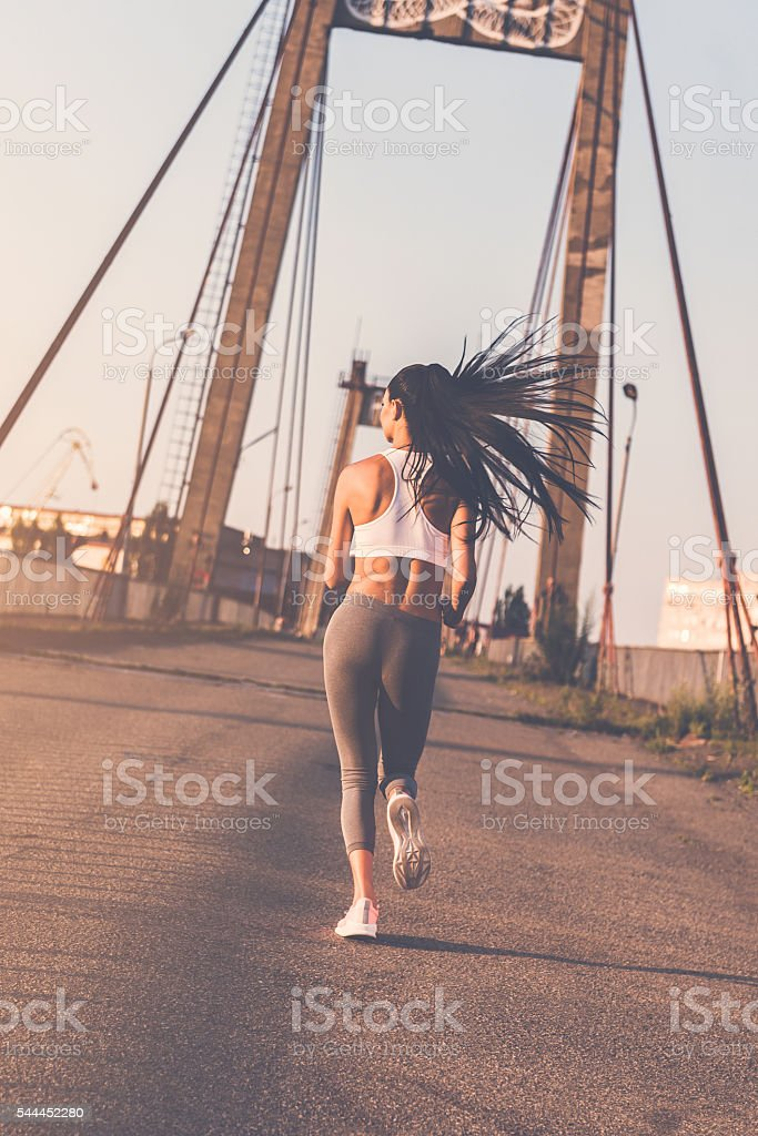 On the move. stock photo
