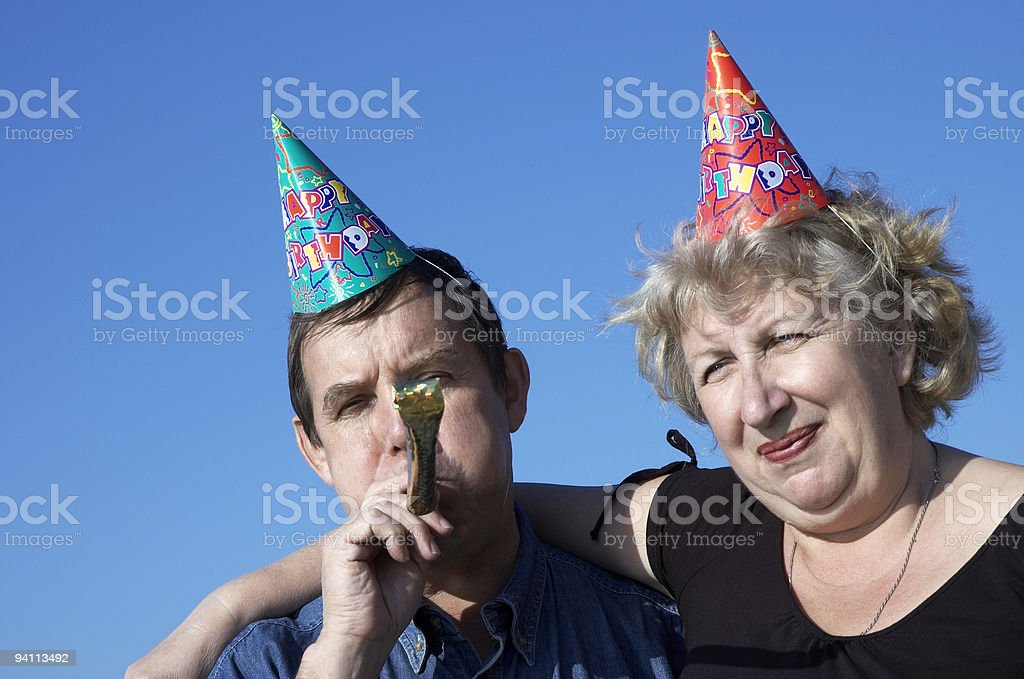 On the party royalty-free stock photo