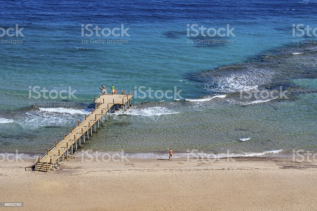 On the Red Sea stock photo