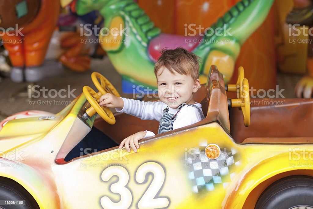 On the ride royalty-free stock photo
