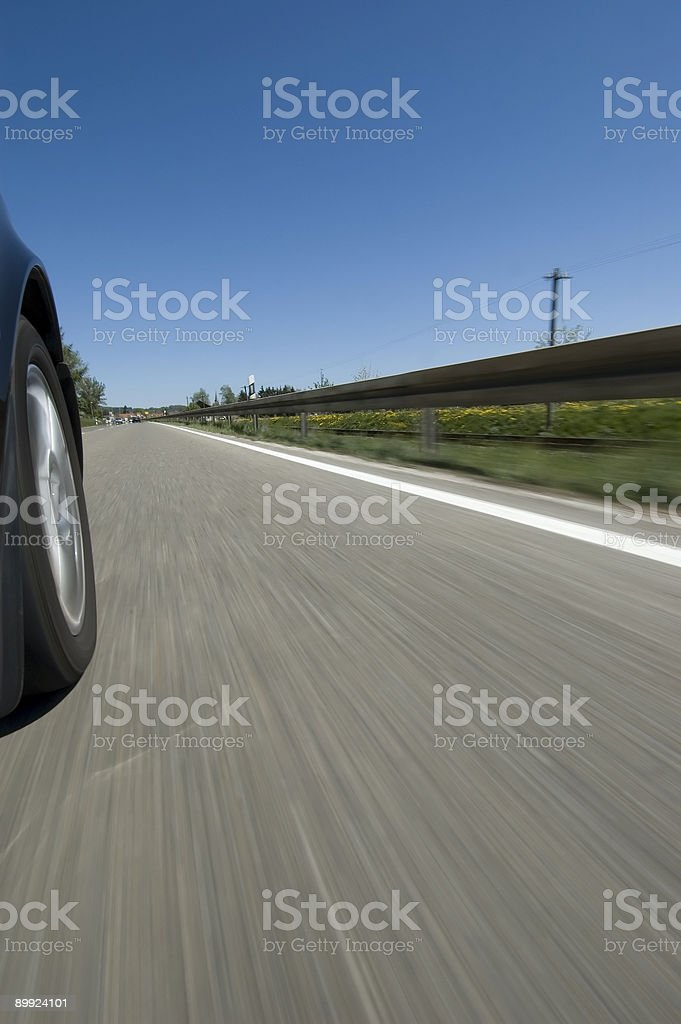 On the Road again royalty-free stock photo