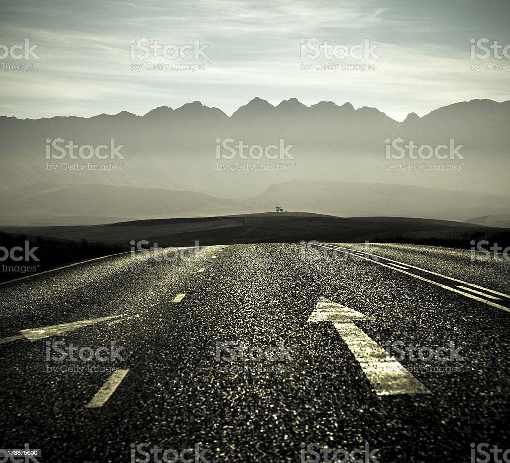 On the road trip stock photo