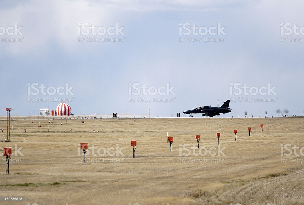 On the Runway royalty-free stock photo