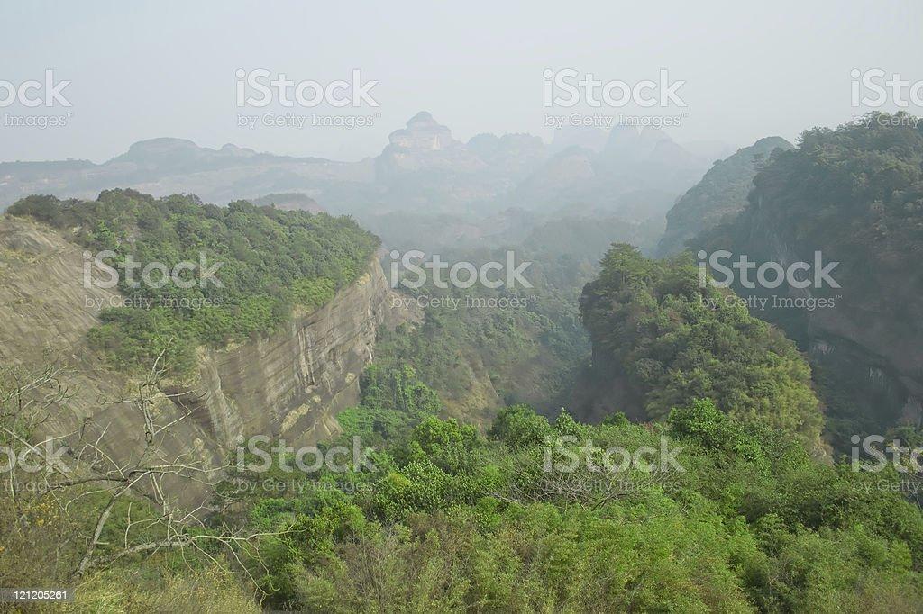 on the top,Danxia moutain\n,@ Shao Guan,China stock photo