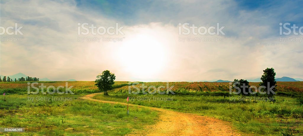 On the way royalty-free stock photo