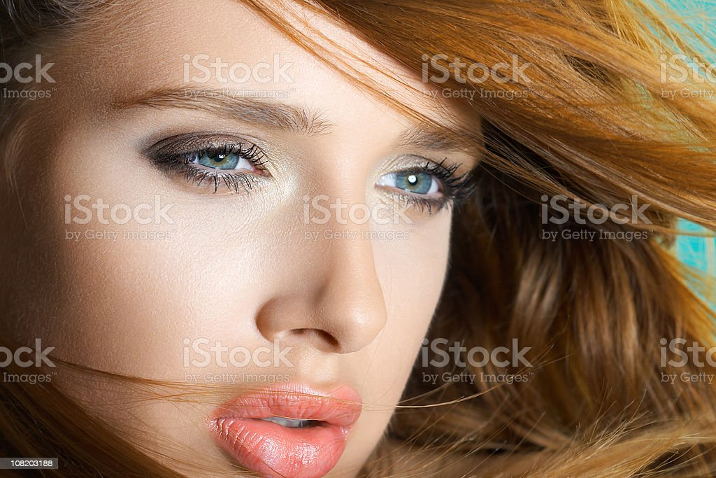 On the wind royalty-free stock photo